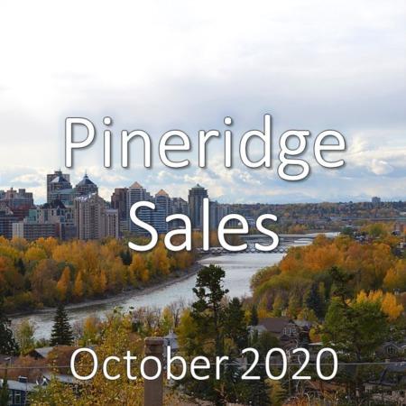 Pineridge Housing Market Update October 2020