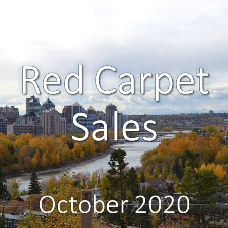 Red Carpet Housing Market Update October 2020
