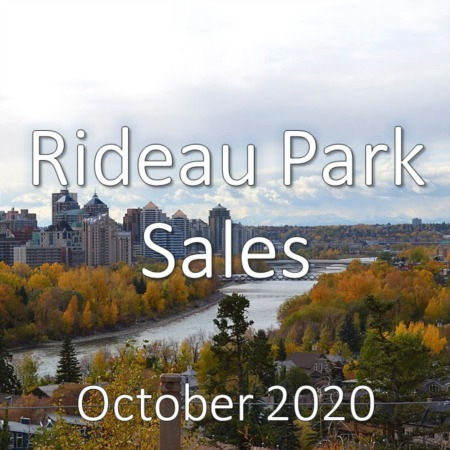 Rideau Park Housing Market Update October 2020