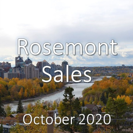 Rosemont Housing Market Update October 2020