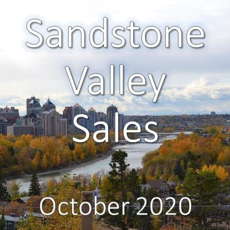 Sandstone Valley Housing Market Update October 2020