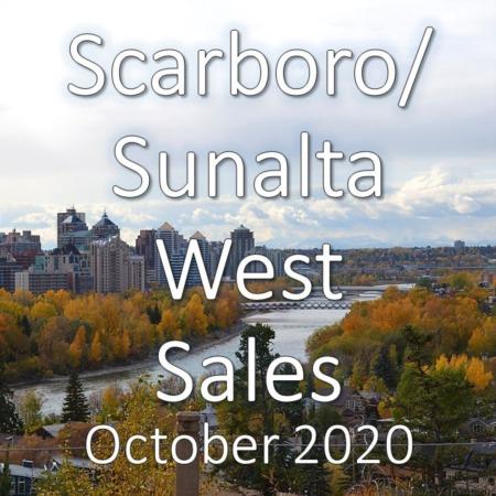 Scarboro/Sunalta West Housing Market Update October 2020