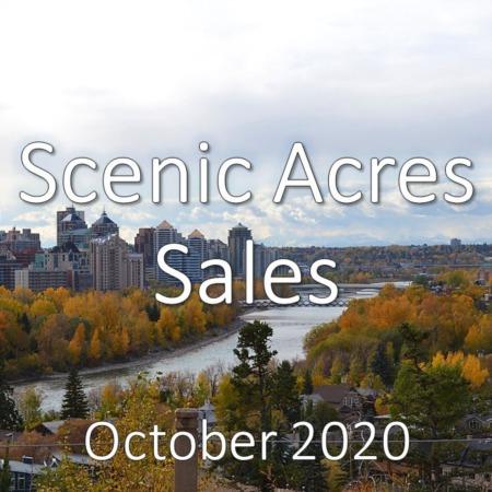 Scenic Acres Housing Market Update October 2020