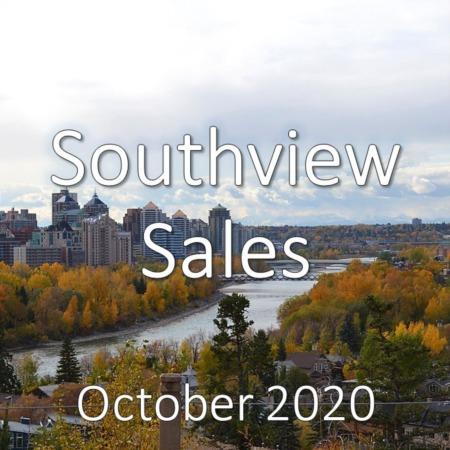 Southview Housing Market Update October 2020