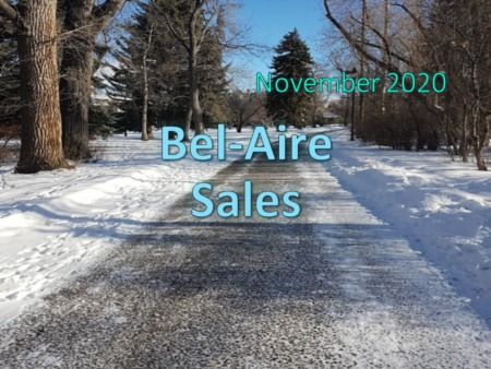 Bel-Aire Housing Market Update November 2020