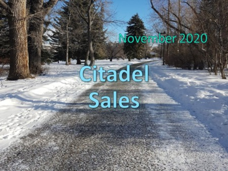 Citadel Housing Market Update November 2020