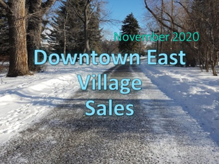 Downtown East Village Housing Market Update November 2020