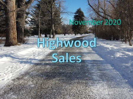 Highwood Housing Market Update November 2020