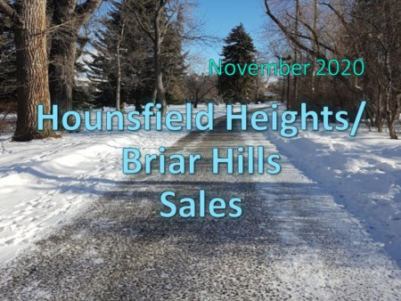 Hounsfield Heights/Briar Hill Housing Market Update November 2020