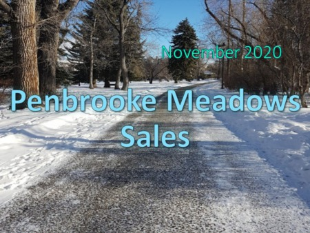 Penbrook Meadows Housing Market Update November 2020