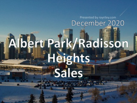 Albert Park/Raddison Heights Housing Market Update December 2020
