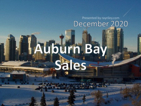 Auburn Bay Housing Market Update December 2020