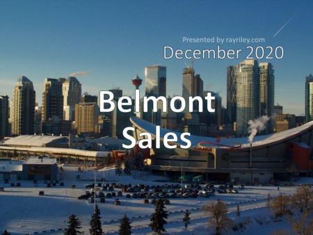 Belmont Housing Market Update December 2020