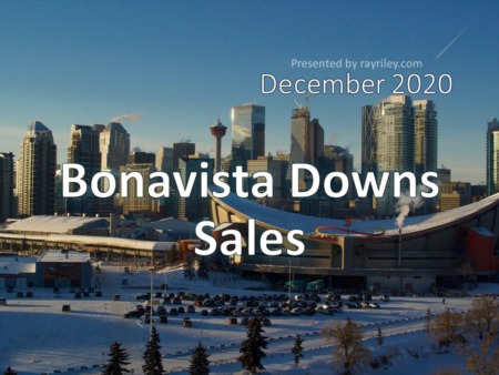 Bonavista Downs Housing Market Update December 2020