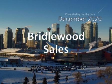 Bridlewood Housing Market Update December 2020