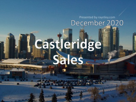 Castleridge Housing Market Update December 2020