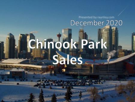 Chinook Park Housing Market Update December 2020