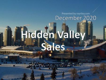 Hidden Valley Housing Market Update December 2020