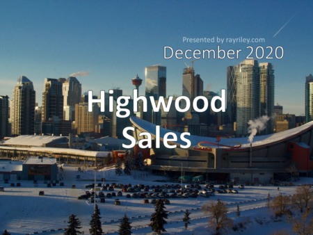 Highwood Housing Market Update December 2020