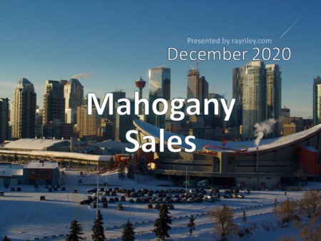 Mahogany Housing Market Update December 2020