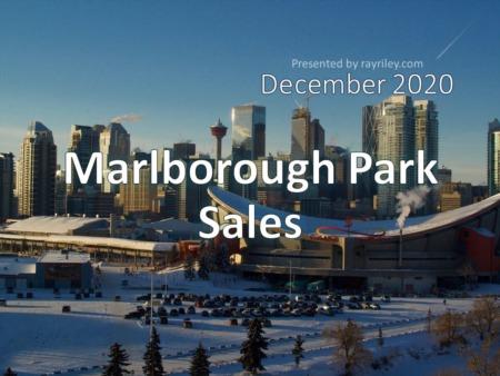 Marlborough Park Housing Market Update December 2020