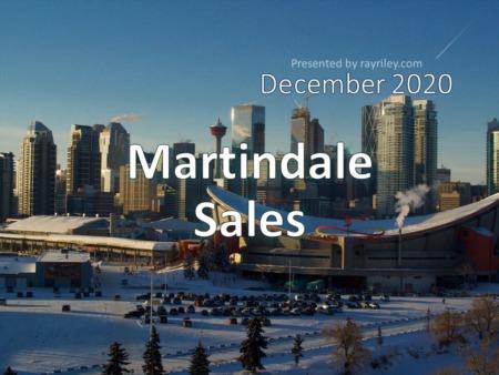 Martindale Housing Market Update December 2020