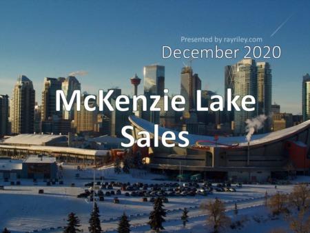 McKenzie Lake Housing Market Update December 2020