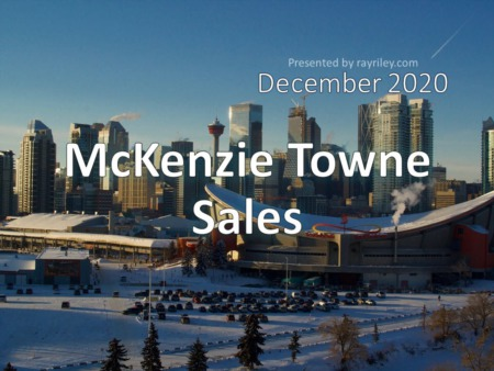 McKenzie Towne Housing Market Update December 2020