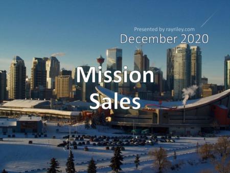 Mission Housing Market Update December 2020