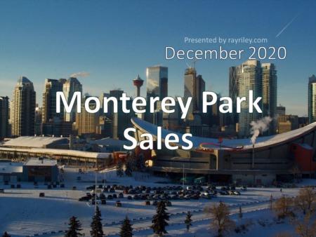 Monterey Park Housing Market Update December 2020