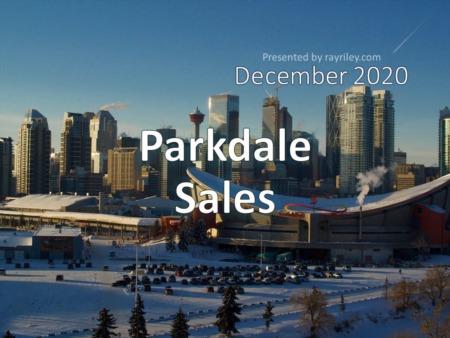 Parkdale Housing Market Update December 2020