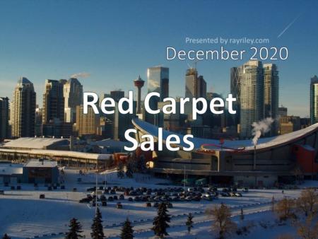 Red Carpet Housing Market Update December 2020