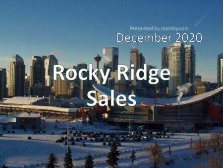 Rocky Ridge Housing Market Update December 2020
