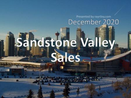 Sandstone Valley Housing Market Update December 2020