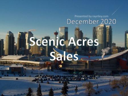 Scenic Acres Housing Market Update December 2020