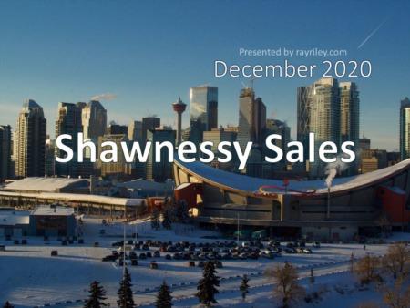 Shawnessy Housing Market Update December 2020