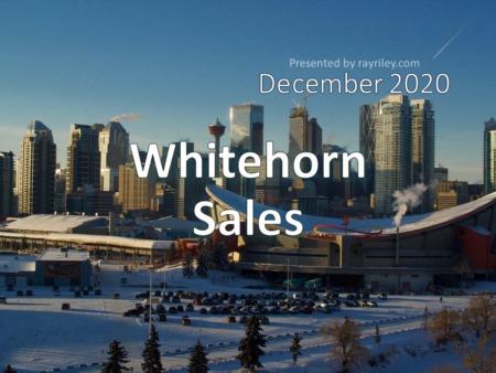 Whitehorn Housing Market Update December 2020