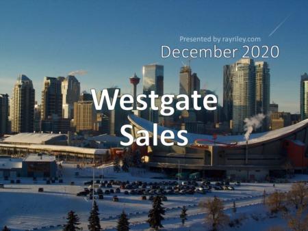 West Gate Housing Market Update December 2020