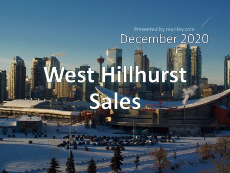 West Hillhurst Housing Market Update December 2020