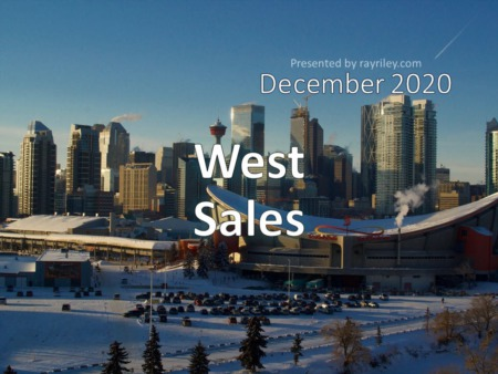West Housing Market Update December 2020