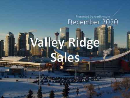 Valley Ridge Housing Market Update December 2020