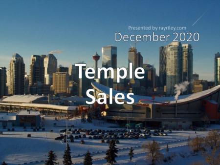 Temple Housing Market Update December 2020