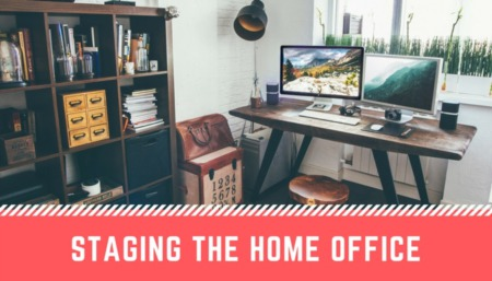 How to Stage the Perfect In-Home Office