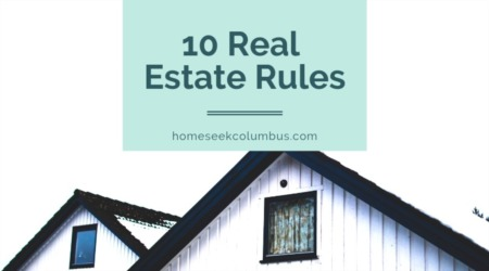 10 Rules to Know About Home Buying