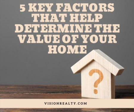 5 Key Factors that Help Determine the Value of Your Home