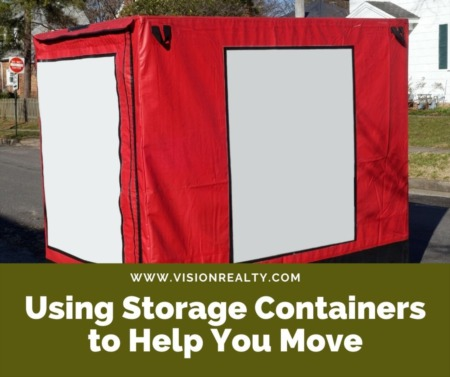 Using Storage Containers to Help You Move