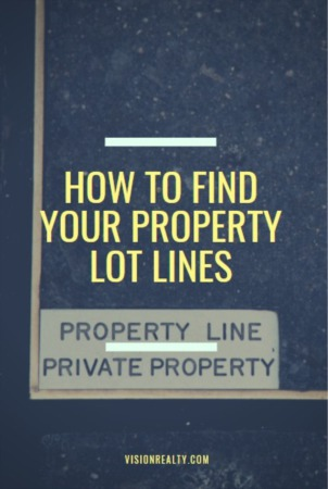 How to Find Your Property Lot Lines