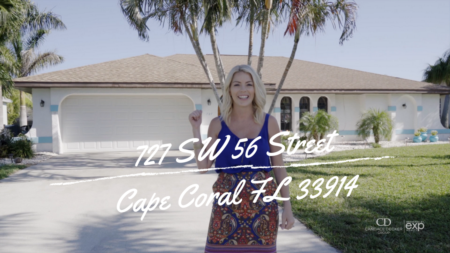 727 SW 56th St Cape Coral 4 Bedroom Pool Home