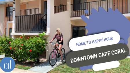 4912 Vincennes Court Condo- 3 Minutes from Home to Happy Hour Biking in Cape Coral
