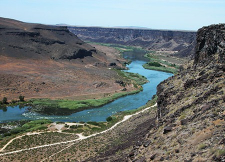 Cool Features of the Snake River
